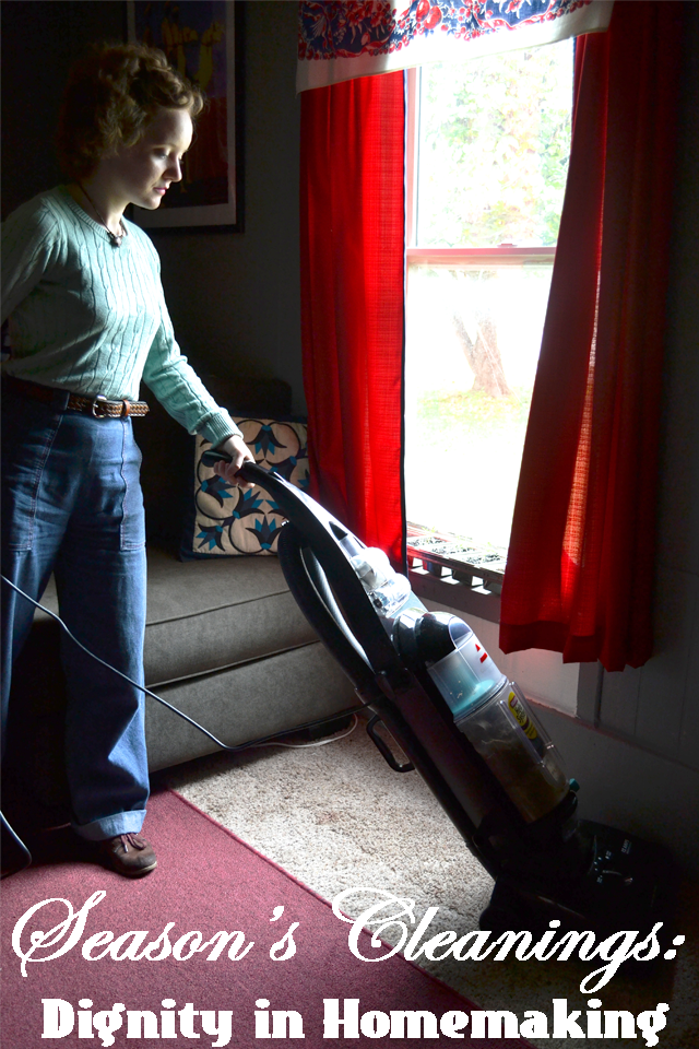 Flashback Summer: Dignity in Homemaking