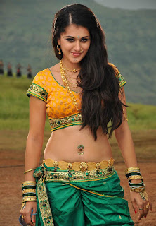 Tapsee Pannu in Really naughty Looks Half Saree Chania CHoli Low Rise Saree WOW