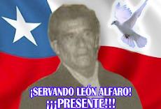 HOMENAJE AL COMPAÑERO SERVANDO LEÓN ALFARO
