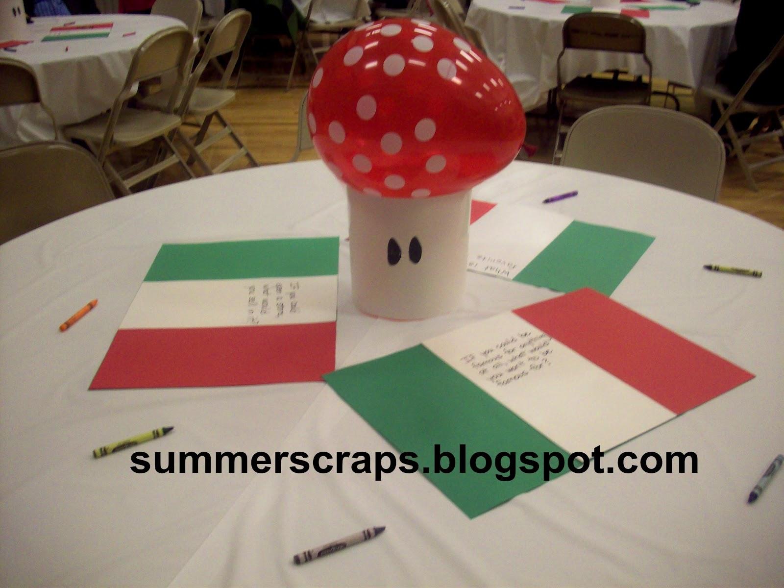 Mario & Luigi Party - Summer Scraps