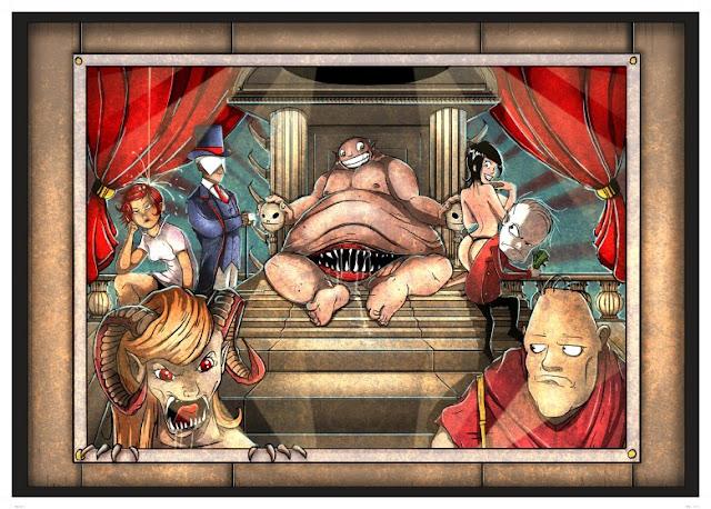 Amager Bryghus Sinner Series Characters