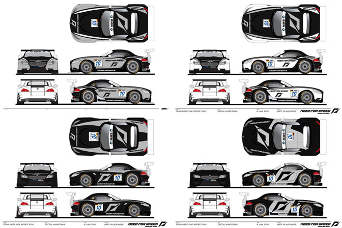 Design Context Need For Speed Bmw Livery Design