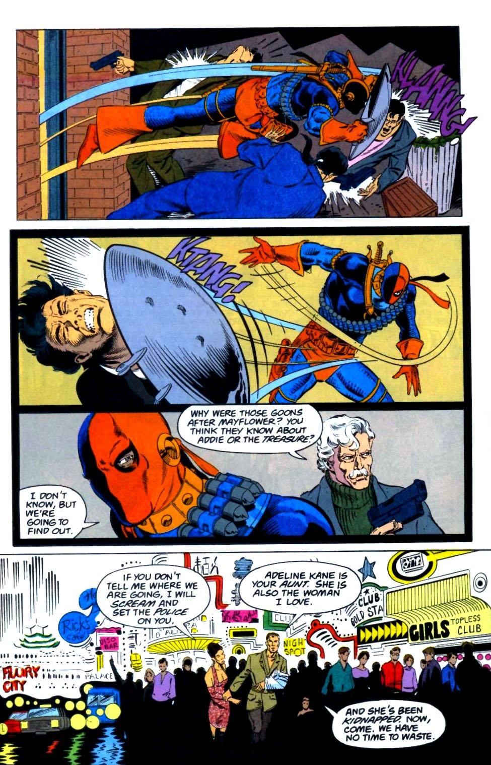 Deathstroke (1991) Issue #29 #34 - English 12
