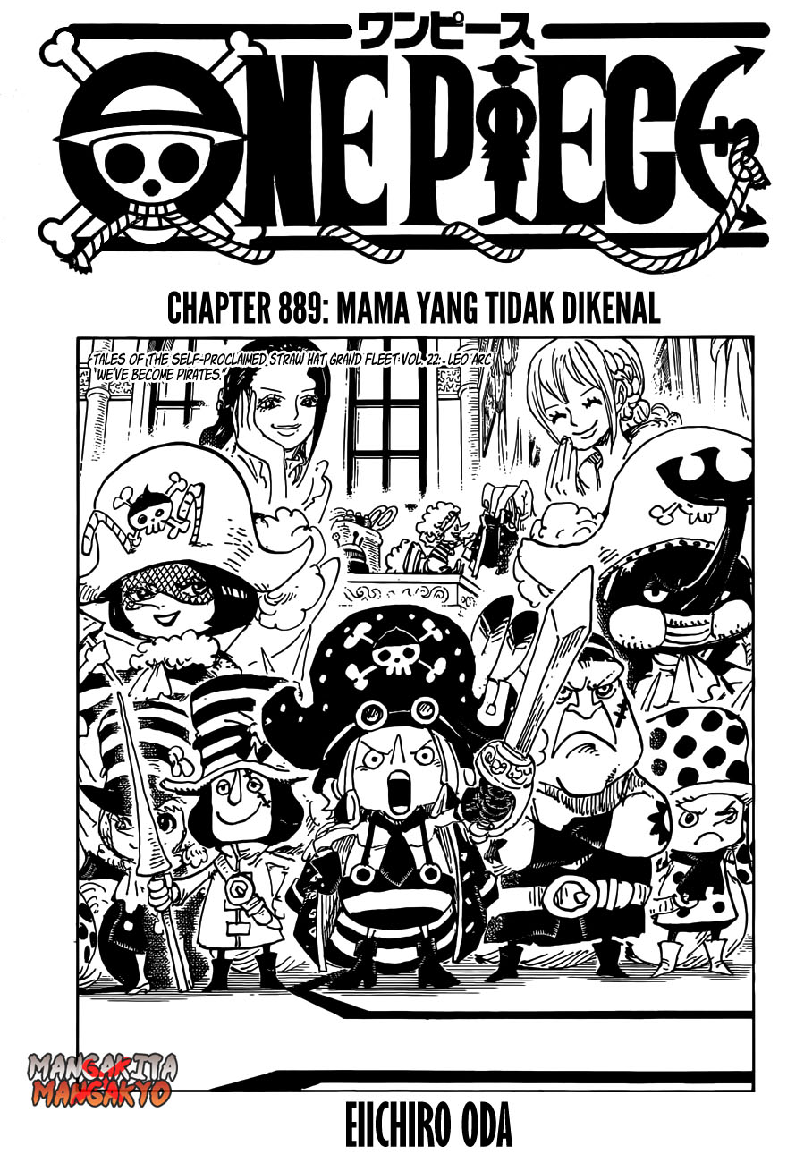 One Piece Chapter 889-2