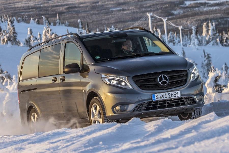2015 MercedesBenz Vito 4x4 introduced  Autoesque