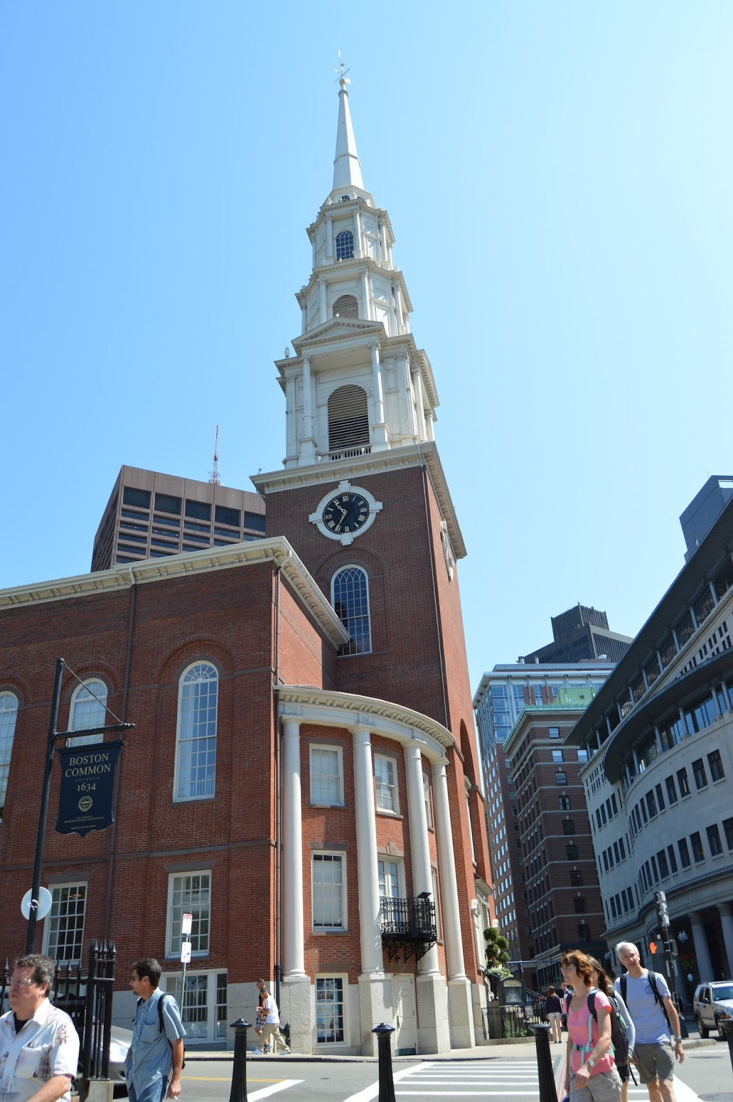 Boston, Freedom Trail, Park Street Church