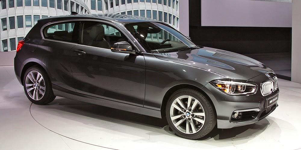 новая BMW 1-й серии
