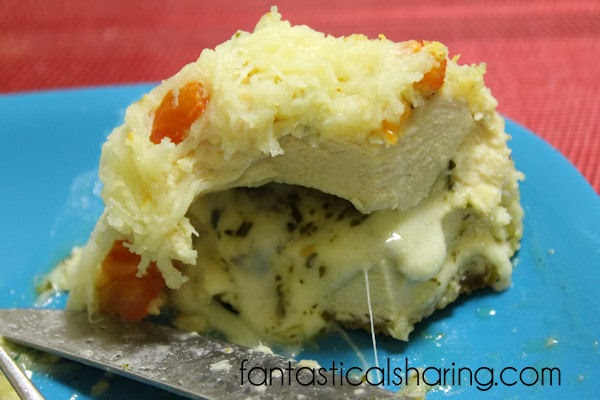 Italian Pesto Chicken   A sublime stuffed chicken #recipe featuring pesto and mozzarella!