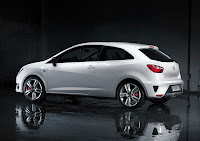 The New Seat Ibiza Cupra side
