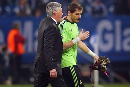 Carlo Ancelotti respalda a Iker Casillas