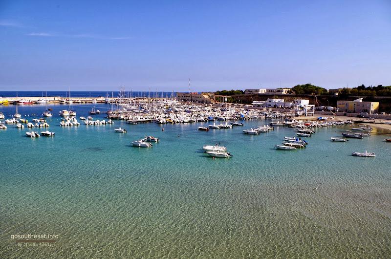 Der Hafen von Otranto im Oktober (Apulien)