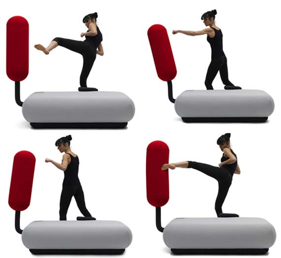 The Champ Lucky Punch Sofa with Awesome Designed