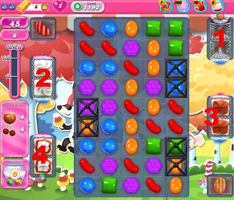 Candy Crush Saga 1192