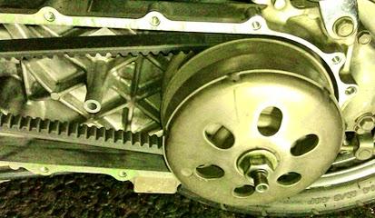 Tanda Kerusakan Pada Komponen CVT Motor Matic