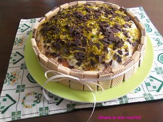 torta alla crema di pistacchi