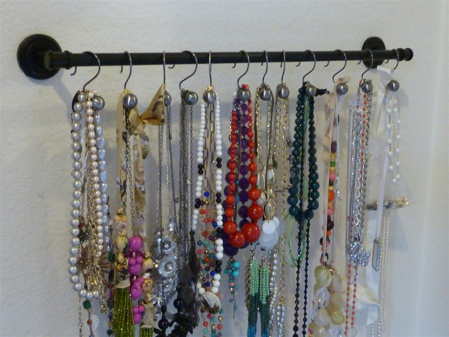 Jewelry Organizer For Necklaces