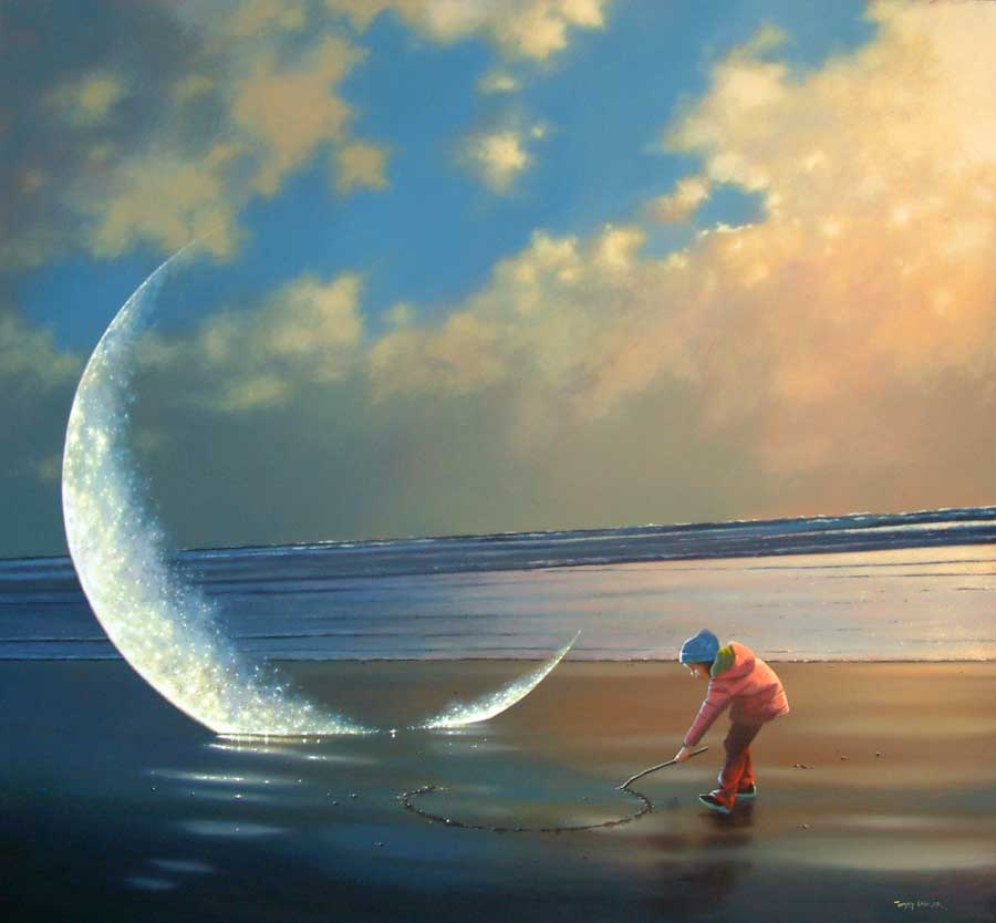 Jimmy Lawlor, 1967 - pintor surrealista irlandês