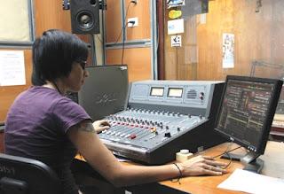 Isdaray Rebollo, realizadora de sonido