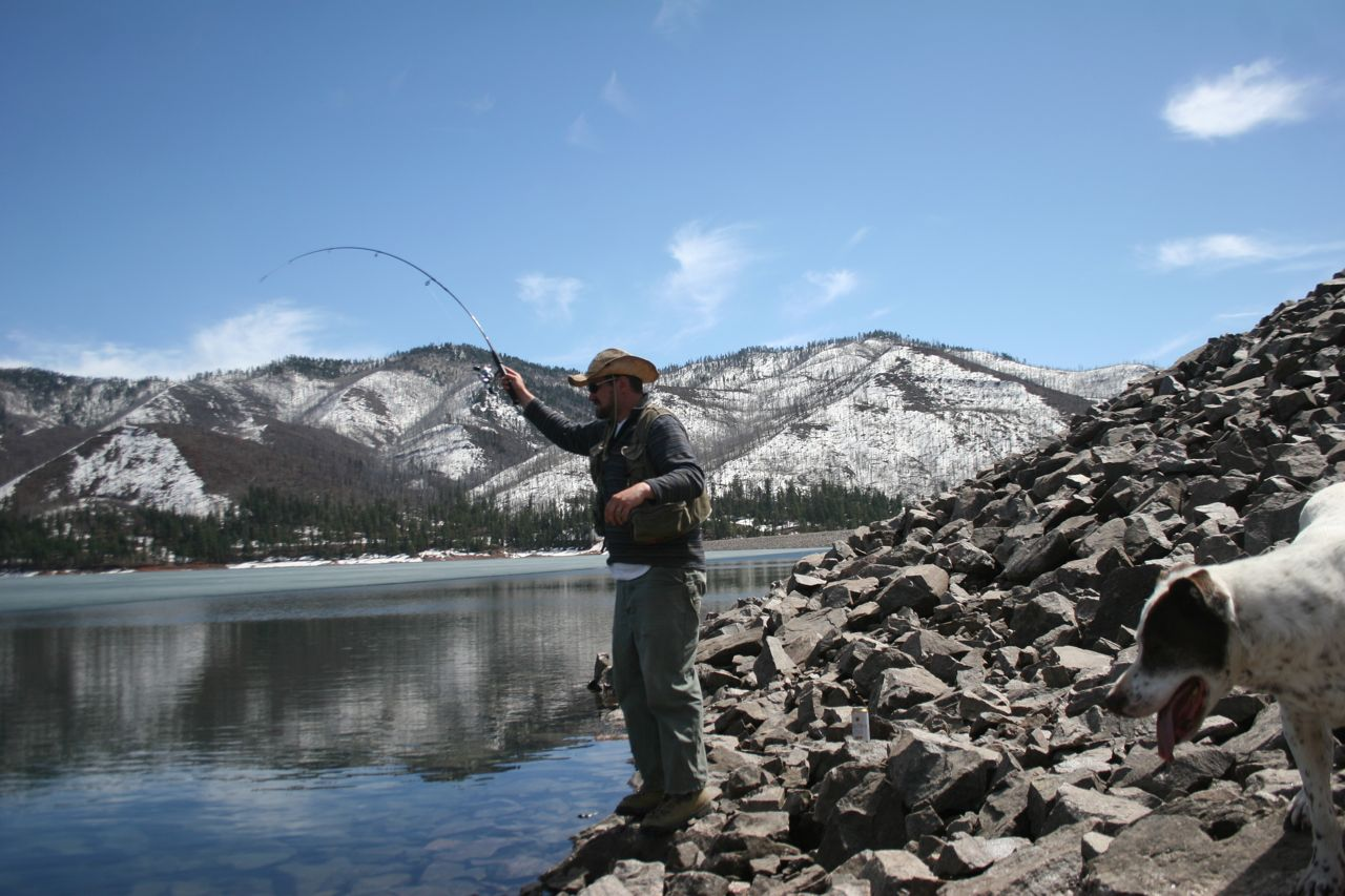 Durango southwest colorado fishing march 2012 for Fishing in durango co