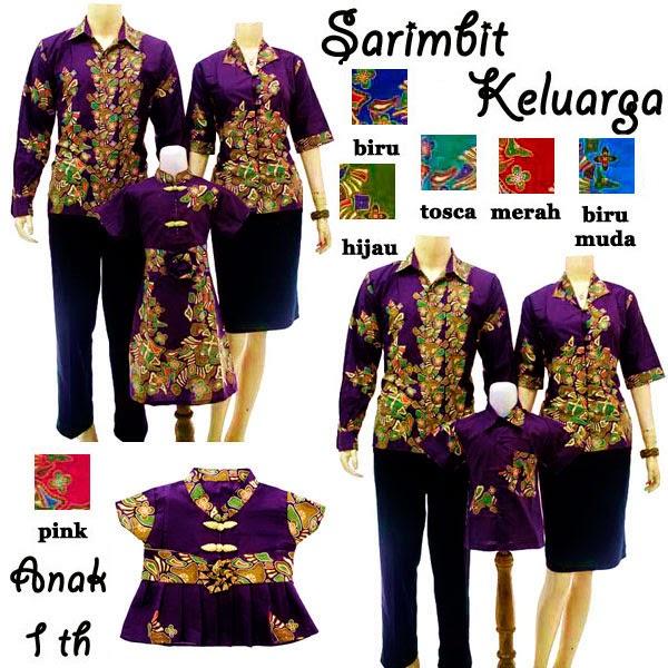 SK028 Sarimbit Keluarga Solo-Batik 2014