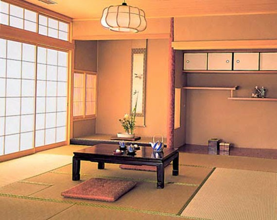 traditional japanese living room furniture