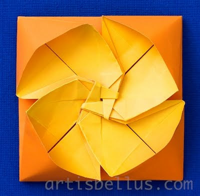 Primrose Tato - New Origami Model and Video