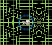 A spacecraft could travel at warp velocity