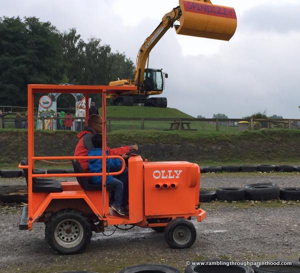 Tractors at Diggerland