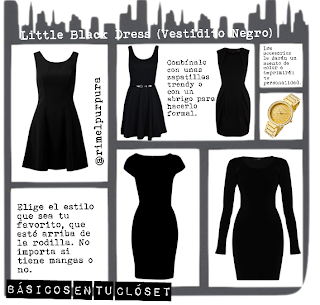Little-black-dress, vestido negro
