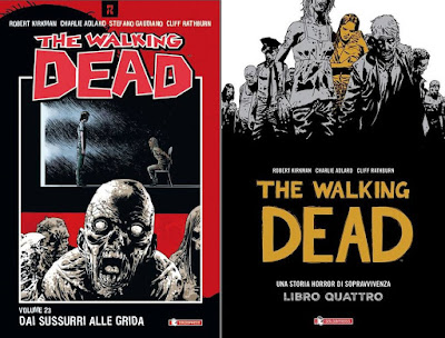 The Walking Dead #23 Dai sussurri alle grida + TWD hardcover libro 4