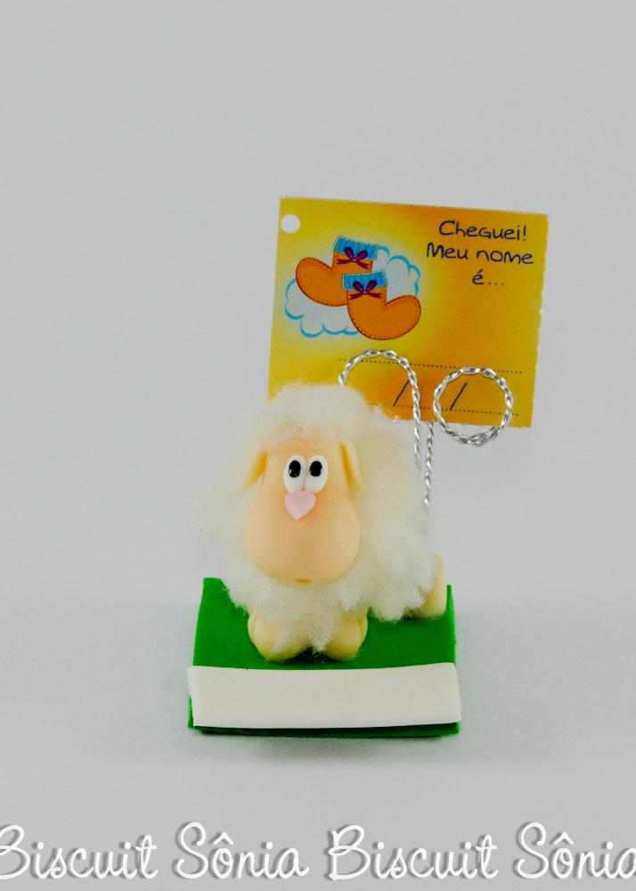 lembrancinha ovelhinha ovelha biscuit