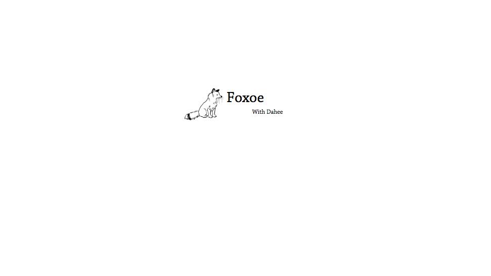 Foxoe