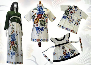 model dress batik wanita