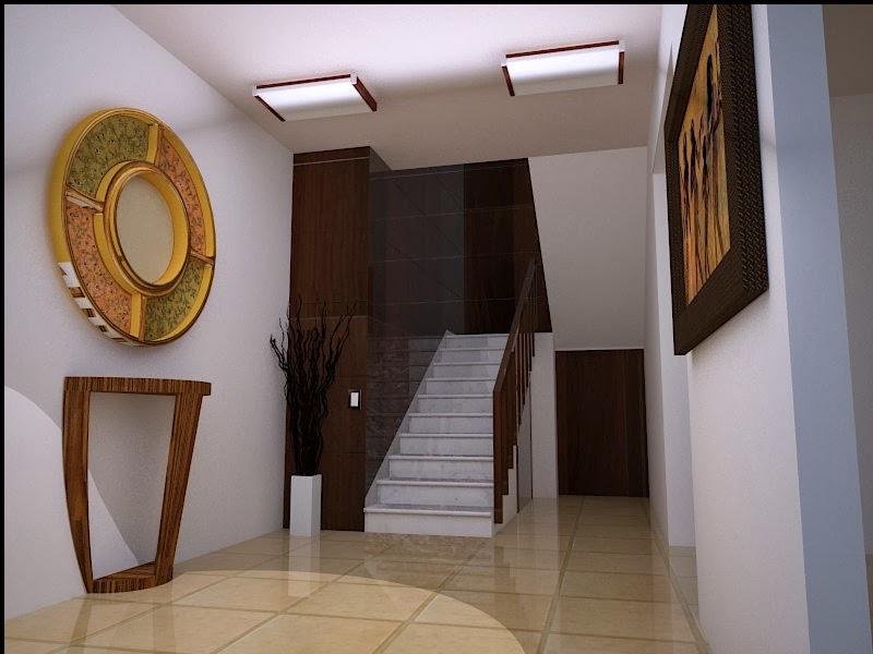Dise o de interior escaleras casa decoracion de - Diseno de interiores malaga ...