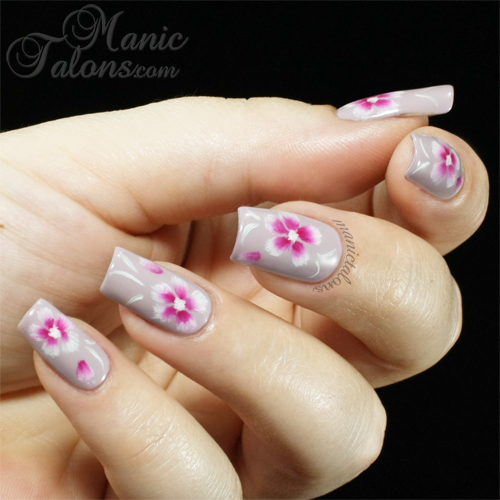 One Stroke Nail Art