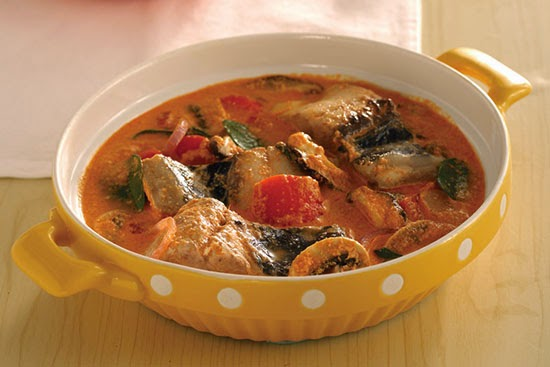Bangus Belly Curry