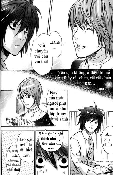 Hình ảnh  in Death Note Doujinshi Collection