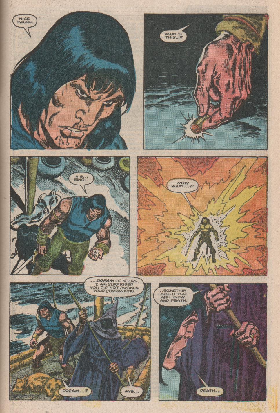 Conan the Barbarian (1970) Issue #175 #187 - English 21