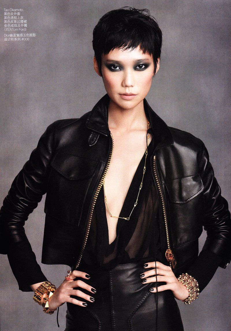 Asian Models Blog Editorial Du Juan Tao Okamoto Hyoni