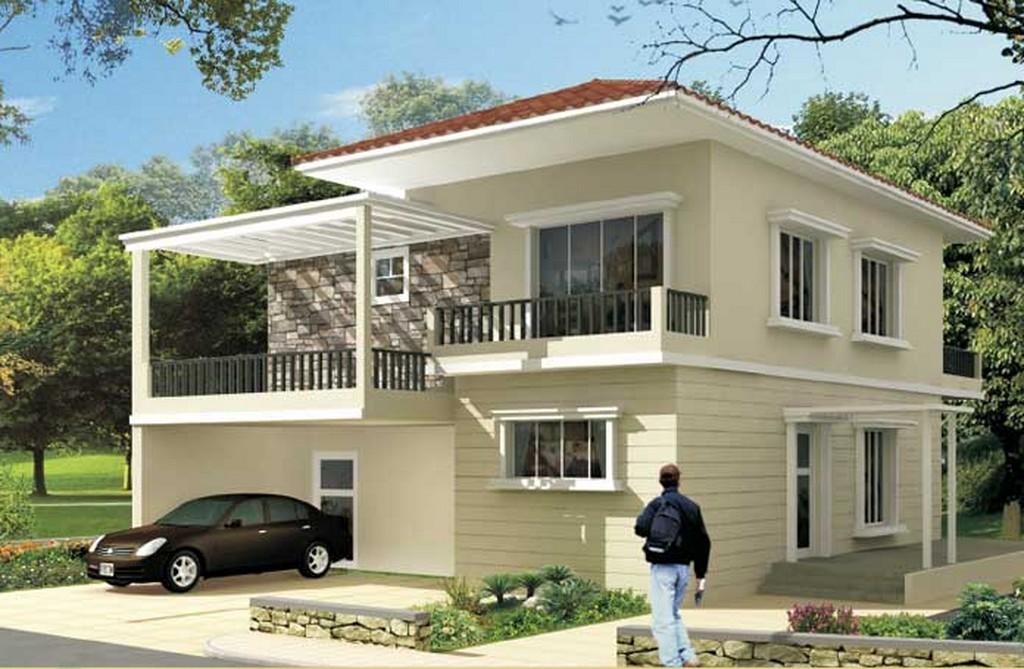 Modern house design in mauritius