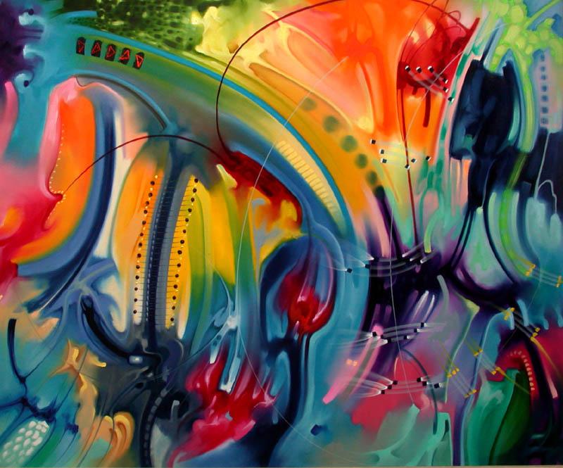 modernos pinturas abstractas al óleo sobre lienzo cuadros pinturas