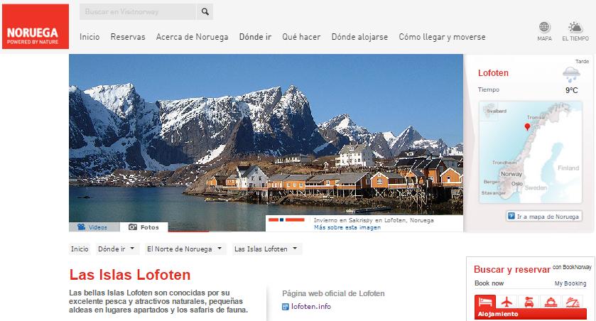 Las Islas Lofoten Noruega