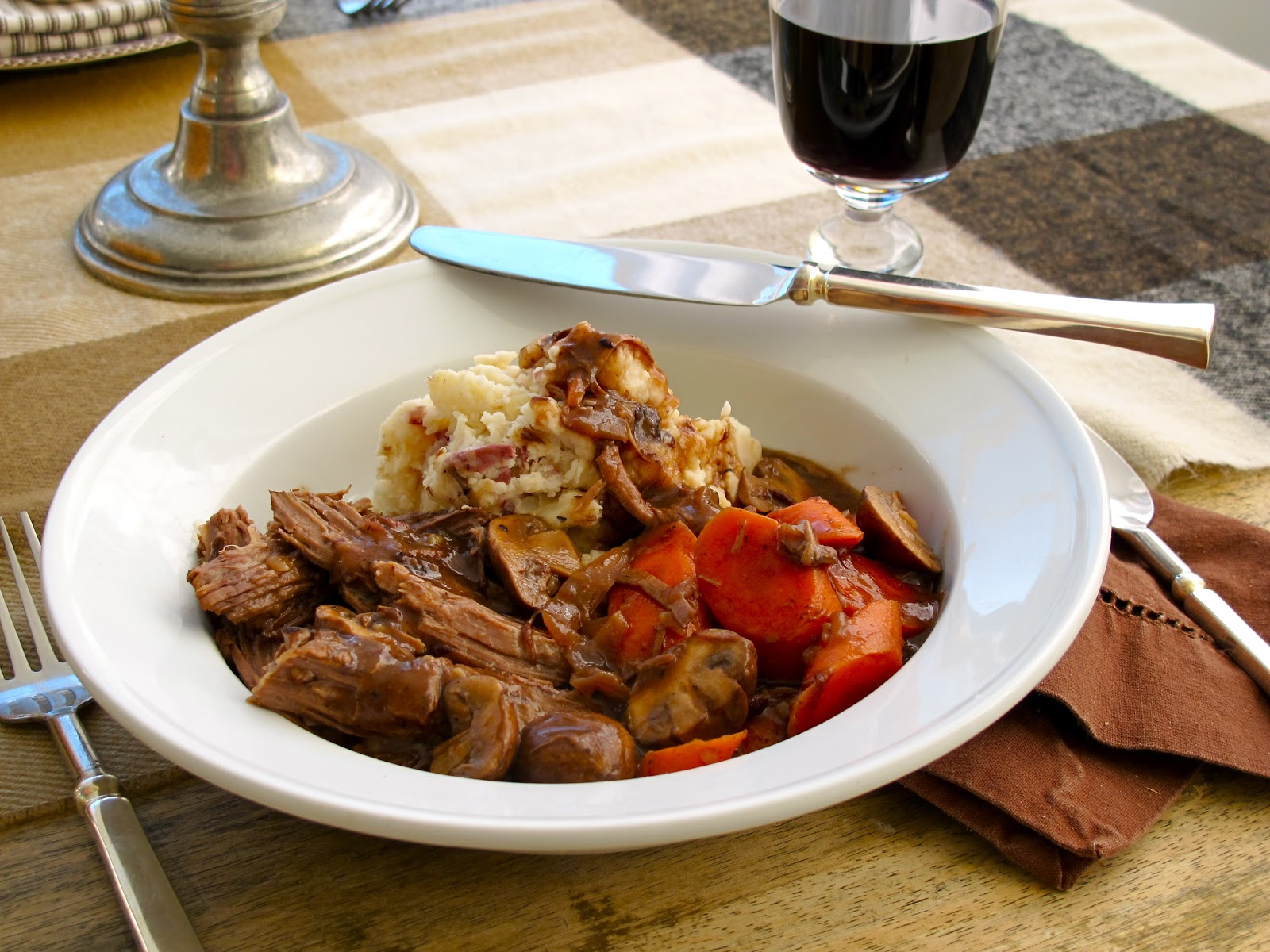 Jenny Steffens Hobick: Pot Roast with Mashed Potatoes ...