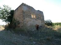 La casa de Serramelera vista des de ponent