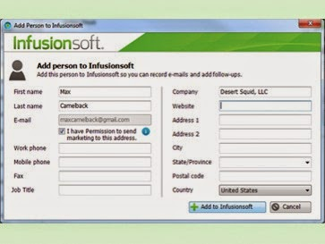 Infusionsoft.com Client Login Page - Customer Reviews Marketing/ Pricing