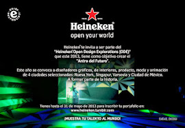 HEINEKEN Open Design Explorations (ODE) 2013