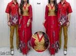 Gamis Couple Red OVJ 1250 HABIS