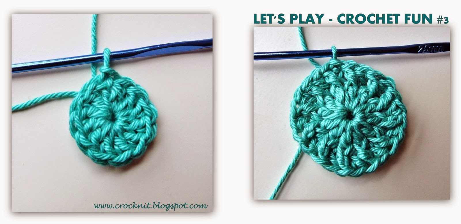Crochet Stitch Rtrf : MICROCKNIT CREATIONS: LETS PLAY - CROCHET FUN - FREE PATTERN #3