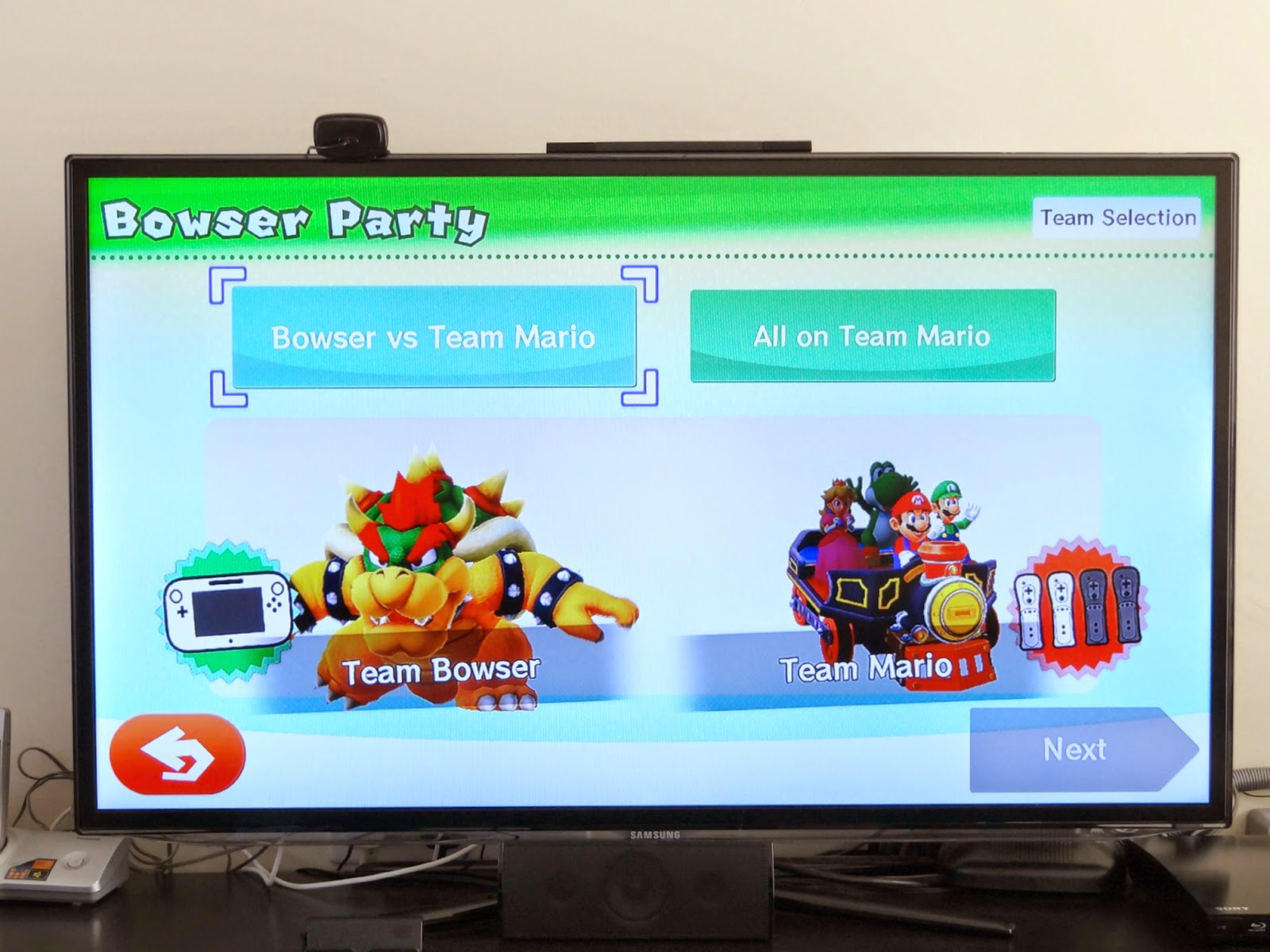 Nintendo Wii U, Mario Party 10, party entertainment