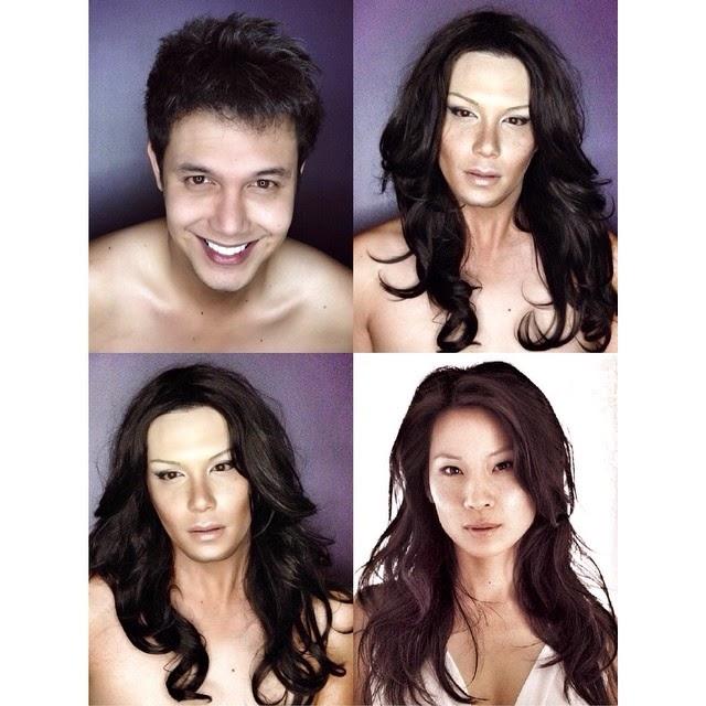 Paolo Ballesteros as Lucy Liu